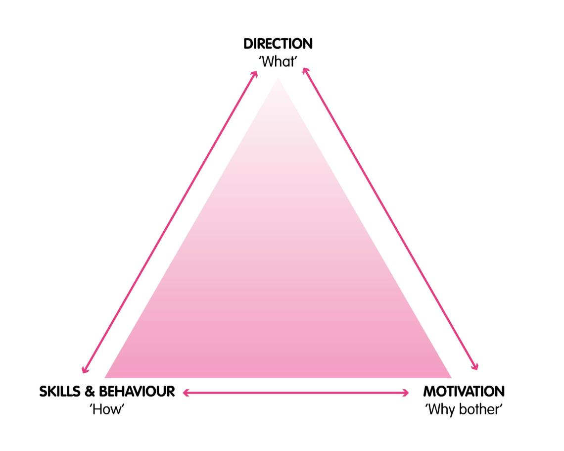 motivation-perfornance triangle